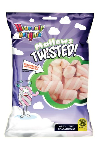 Mallows Twisted 140g Pakke